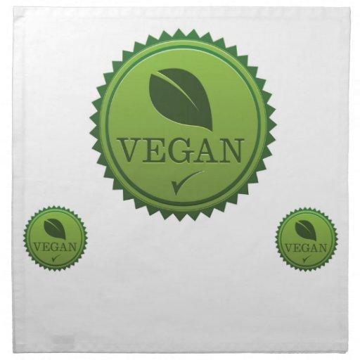 Servilletas del vegano