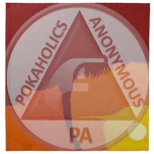 Servilletas del verano del PA (sistema tropical de