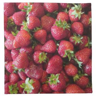 Servilletas (fije de 4) - las fresas del verano