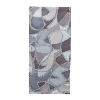 Servilletas frenéticas del paño del arte abstracto