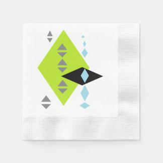 Servilletas geométricas modernas de la impresión servilleta desechable