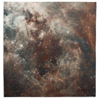 Servilletas grandes de la nube de Magellanic de la