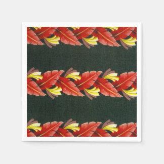 Servilletas hawaianas de la impresión de la camisa servilleta desechable