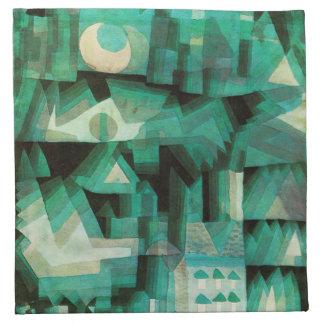 Servilletas ideales de la ciudad de Paul Klee