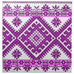 Servilletas impresión púrpura ucraniana del algodó