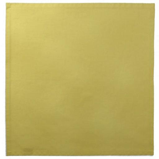 Servilletas Metal-Coloreadas oro