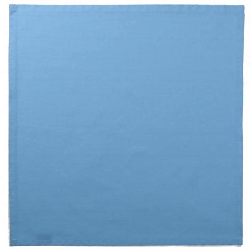 Servilletas occidentales de los azules