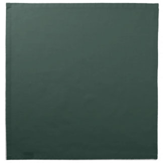 Servilletas oscuras de la verde lima