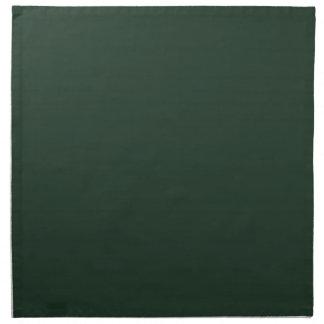 Servilletas oscuras de la verde lima II