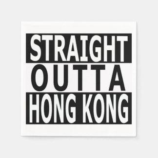 Servilletas rectas del cóctel de Outta Hong Kong Servilletas Desechables
