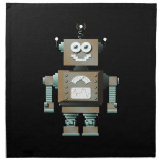 Servilletas retras del robot del juguete (DK)