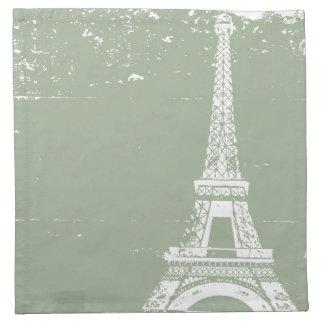 Servilletas sabias de la torre Eiffel