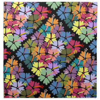 Servilletas tropicales coloridas del paño del