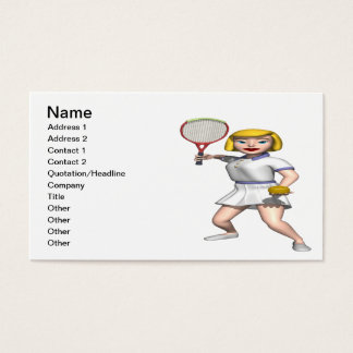 Serving Business Card