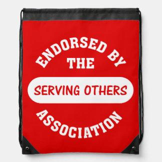 Serving Others Backpacks