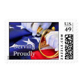 Serving proudly Postage