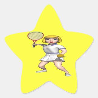 Serving Star Sticker