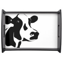 Serving Tray-Cow Serving Tray