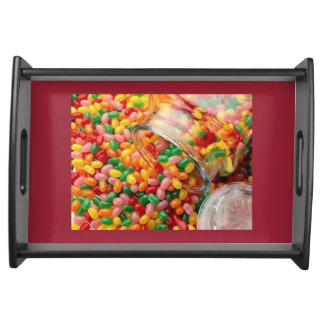 SERVING TRAY, CUSTOMIZE SMALL BLACK SERVING TRAY