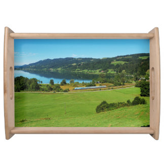 Serving tray of large Alpsee