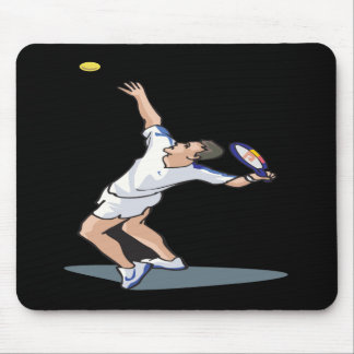 Serving Up Mouse Pad
