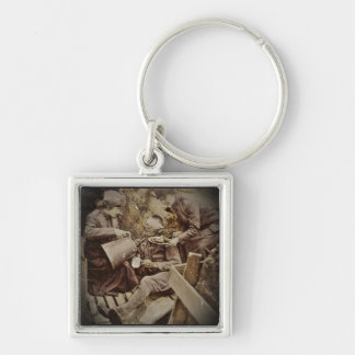 Serving Wounded Soldier Coffee Keychain