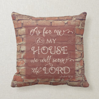 Serviremos al señor - 24:15 de Joshua Cojín