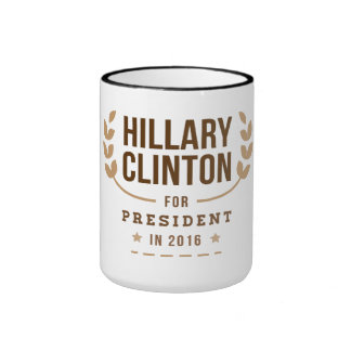 Sesame Hillary Clinton for President in 2016 Ringer Coffee Mug