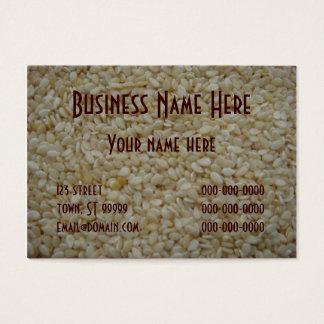 Sesame Seeds Business Card