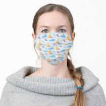 Sesame Sleepy Time Pattern Adult Cloth Face Mask