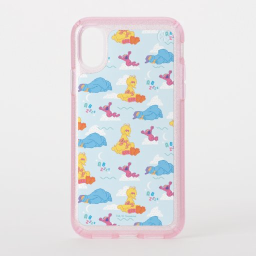 Sesame Sleepy Time Pattern Speck iPhone X Case