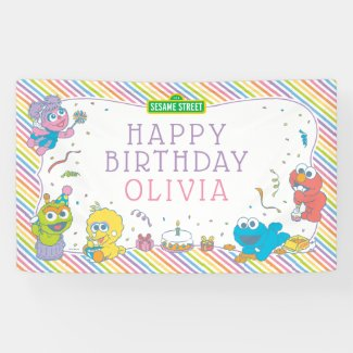 Sesame Street | Baby's First Birthday Banner