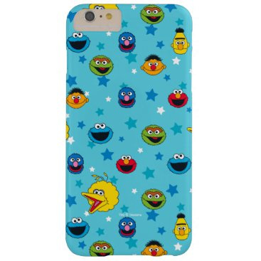 Sesame Street | Best Friends Star Pattern Barely There iPhone 6 Plus Case