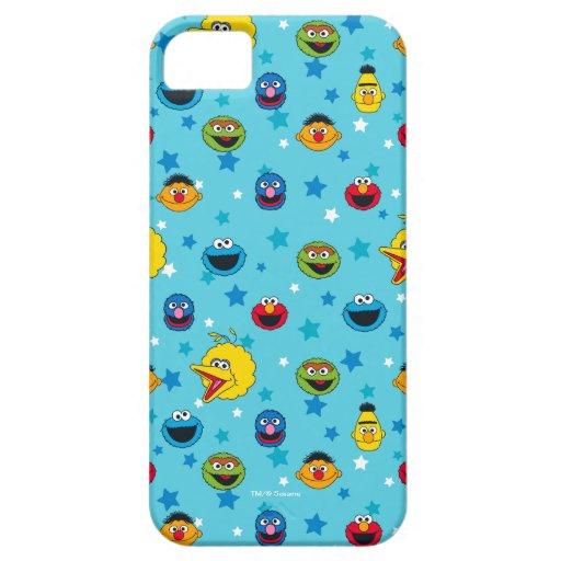 Sesame Street | Best Friends Star Pattern iPhone SE/5/5s Case