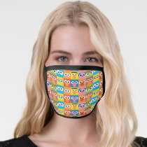 Sesame Street Character Eyes Pattern Face Mask