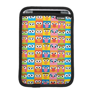 Sesame Street Character Eyes Pattern iPad Mini Sleeve