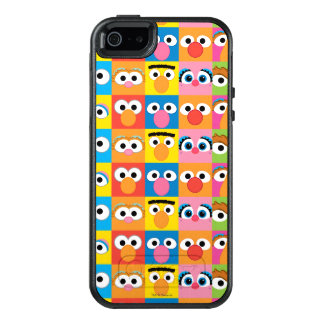 Sesame Street Character Eyes Pattern OtterBox iPhone 5/5s/SE Case