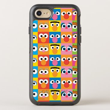 Sesame Street Character Eyes Pattern OtterBox Symmetry iPhone 8/7 Case