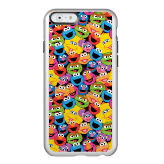 Sesame Street Character Faces Pattern Incipio Feather® Shine iPhone 6 Case
