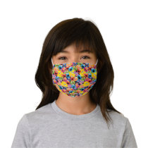 Sesame Street Character Faces Pattern Kids' Cloth Face Mask