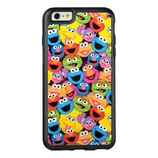 Sesame Street Character Faces Pattern OtterBox iPhone 6/6s Plus Case
