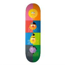 Sesame Street Characters - Color Block Skateboard