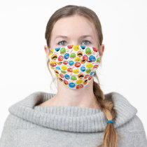 Sesame Street Circle Character Pattern Adult Cloth Face Mask