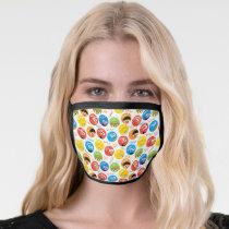 Sesame Street Circle Character Pattern Face Mask