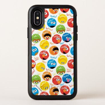 Sesame Street Circle Character Pattern OtterBox Symmetry iPhone X Case