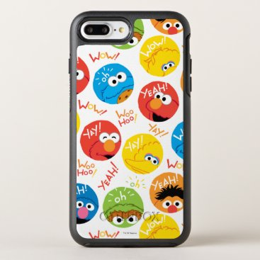 Sesame Street Circle Character Pattern OtterBox Symmetry iPhone 8 Plus/7 Plus Case