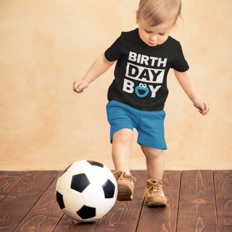 Sesame Street | Cookie Monster - Birthday Boy Baby T-Shirt
