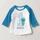 Sesame Street   Cookie Monster First Birthday Baby T-Shirt