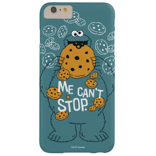 Sesame Street | Cookie Monster - Me Can't Stop Barely There iPhone 6 Plus Case