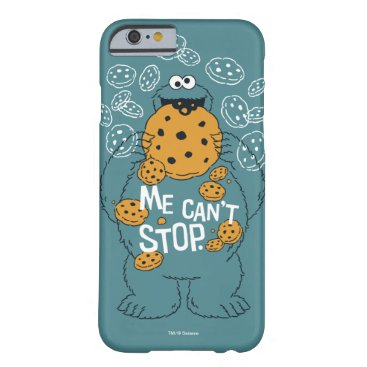 Sesame Street | Cookie Monster - Me Can't Stop Barely There iPhone 6 Case